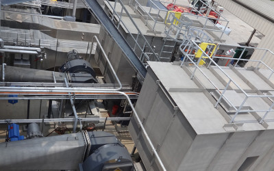 Multiple Hearth Incineration Project_Regenerative Thermal Oxidizers